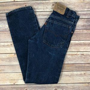 VINTAGE LEVI'S 509-0207 Straight leg Orange tab